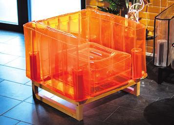 Aufblasbare Möbel Foto: Die Wäscherei