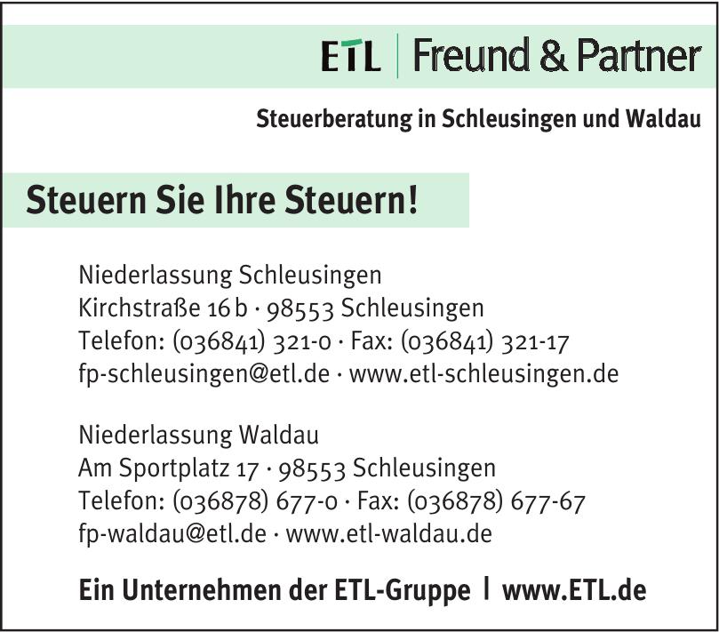 ETL   Freund & Partner - Niederlassung Schleusingen