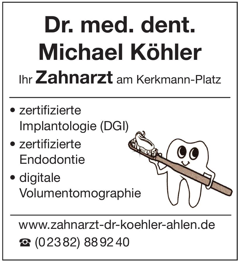Dr. med. dent. Michael Köhler-Zahnarzt