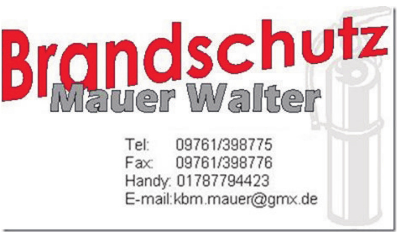 Brandschutz Mauer Walter