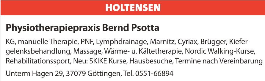 Physiotherapiepraxis Bernd Psotta