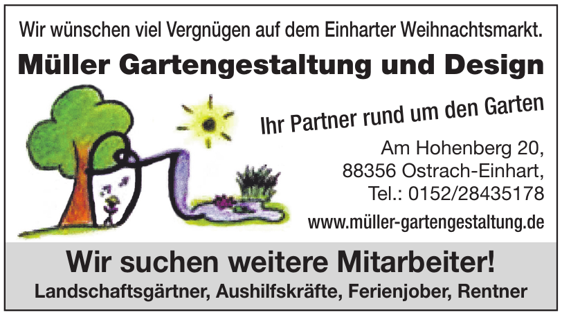 Müller Gartengestaltung und Design