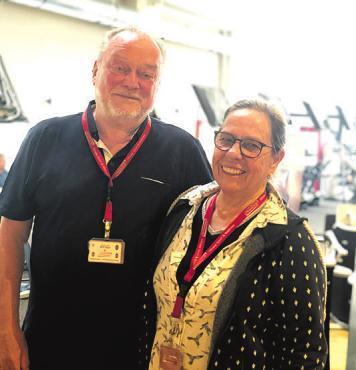 Iris und Hartmut Nethe fühlen sich fit Foto: pr
