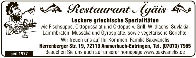 Restaurant Ägäis