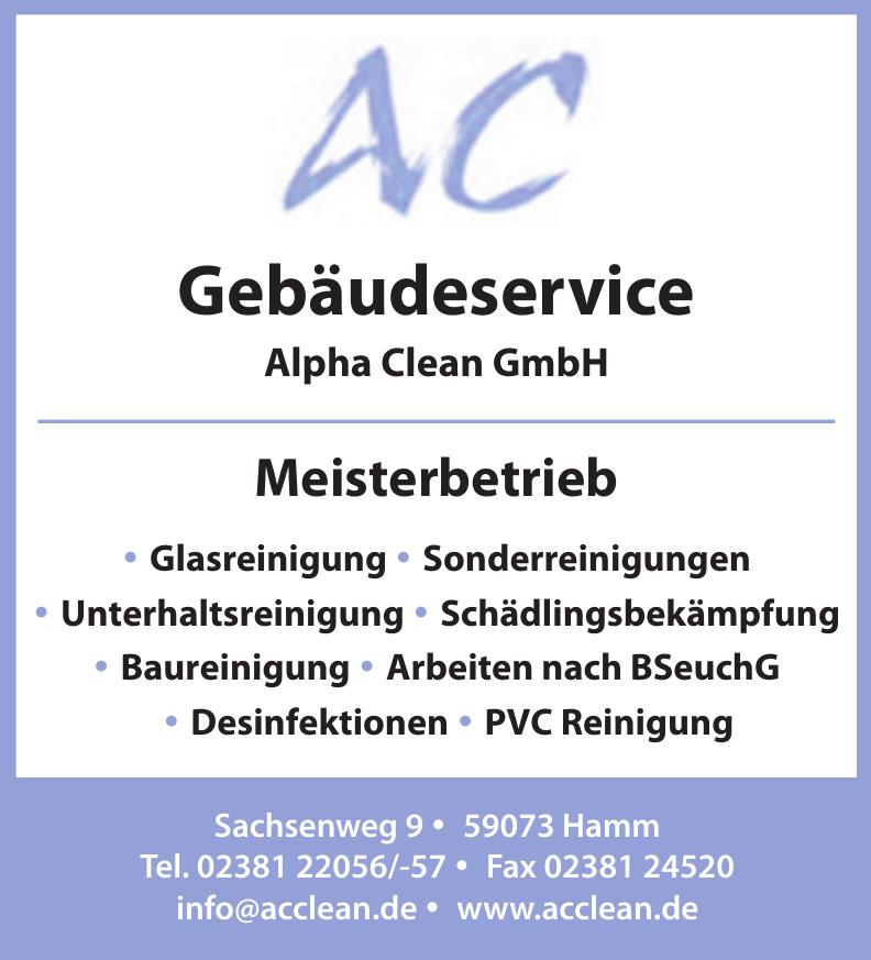 Gebäudeservice Alpha Clean GmbH