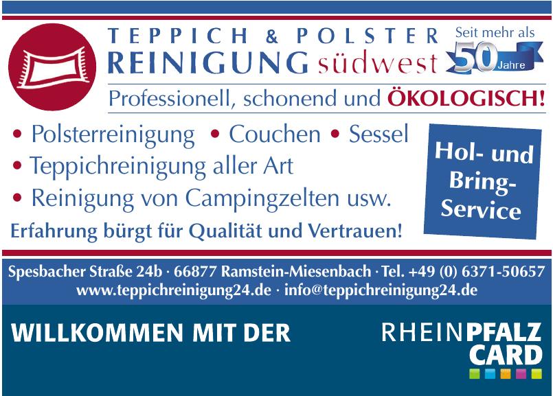 Teppich & Polster Reinigung Südwest
