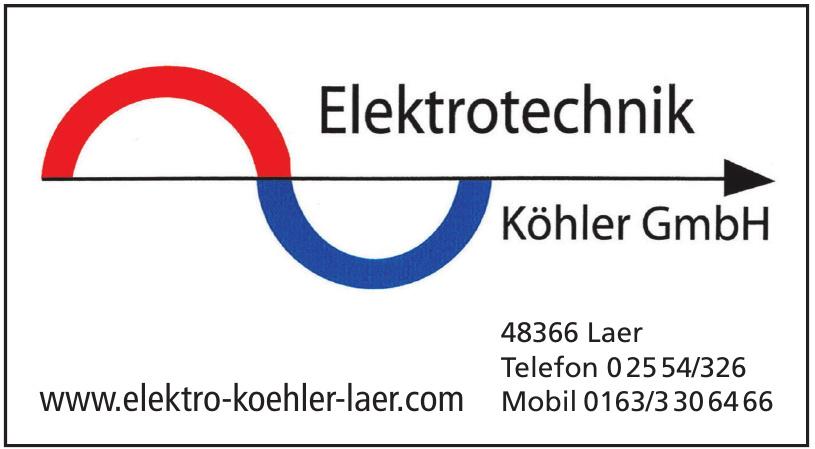 Elektrotechnik Köhler GmbH