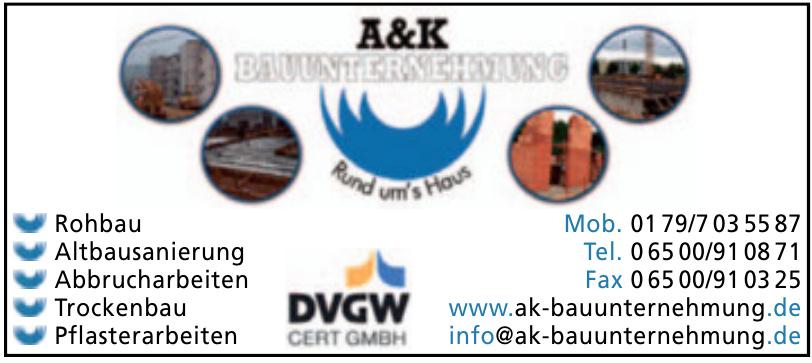A&K Bauunternehmung