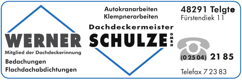 Werner Schulze Dachdeckermeister GmbH