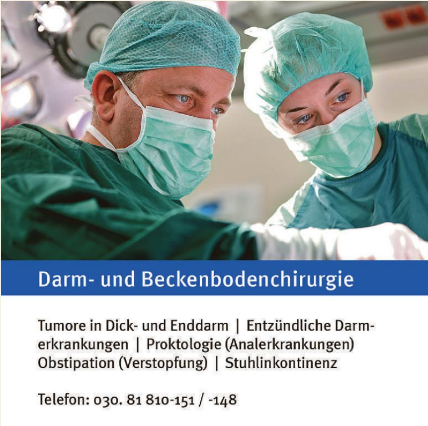 Darm- und Beckenbodenchirurgie