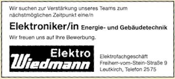 Elektro Wiedmann