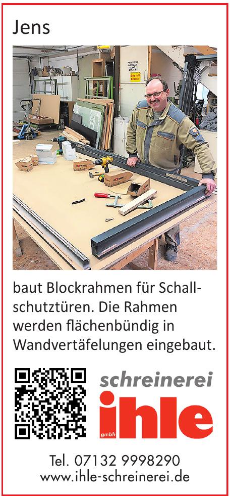 Schreinerei Ihle GmbH