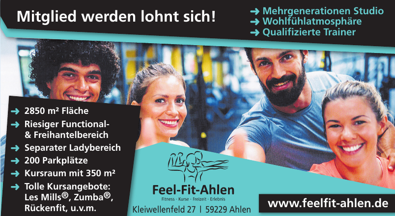 Feel-Fit-Ahlen