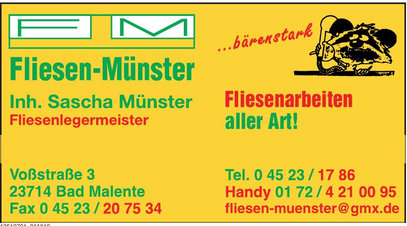 Fliesen-Münster