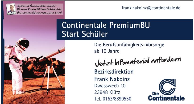 Die Continentale Bezirksdirektion Frank Nakoinz