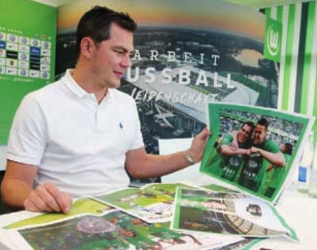 Meister-Erinnerungen: VfL-Sportdirektor Marcel Schäfer.