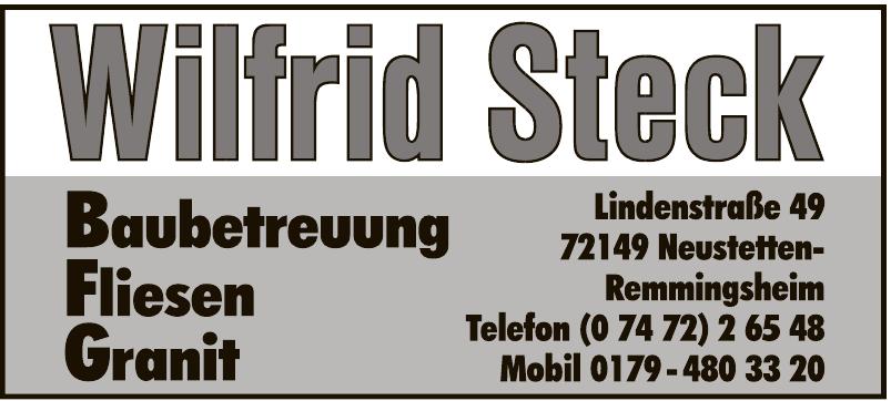 Wilfried Steck Baubetreuung, Fliesen, Granit