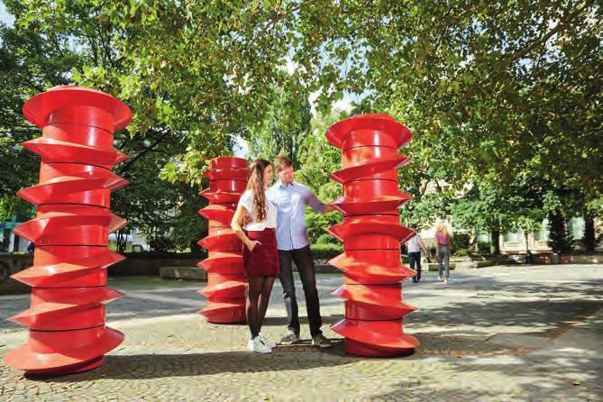 Kultur for free: In Hannover gibt es mehr als 200 Skulpturen. Foto: HMTG, L. Gerhardts