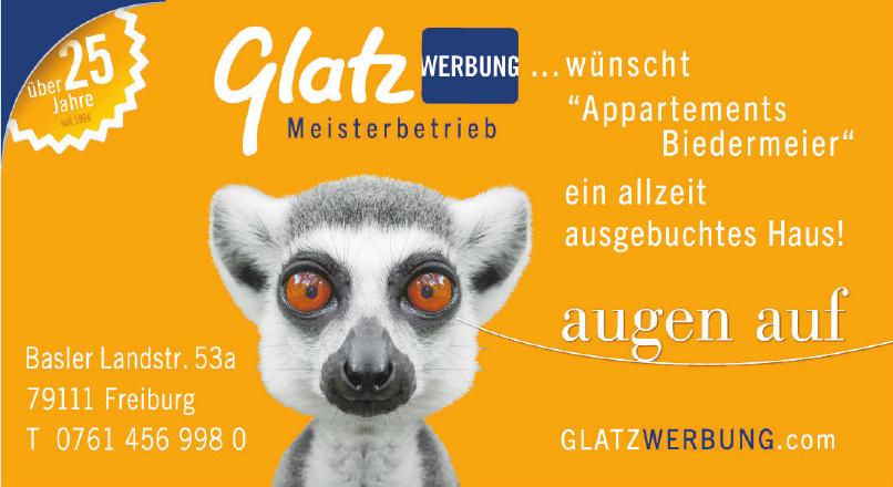 Glatz Werbung