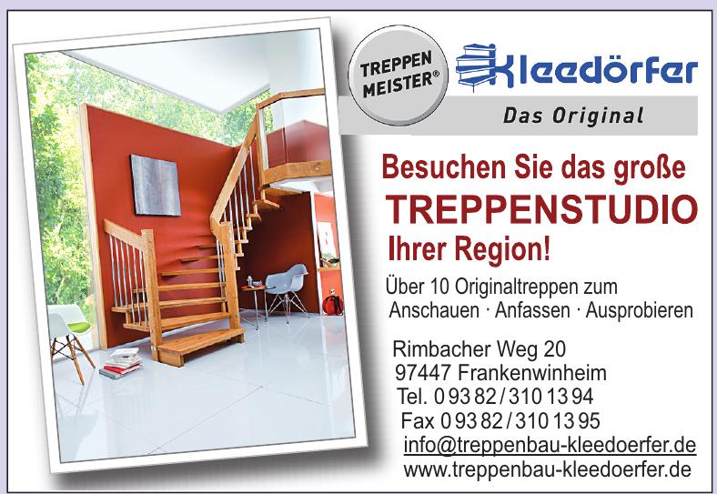 Treppenstudio Kleedärfer