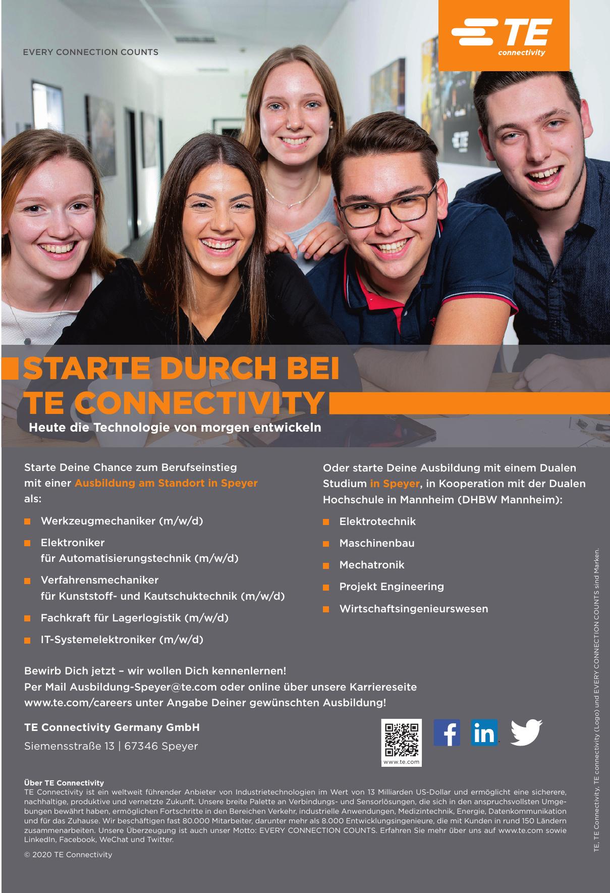 TE Connectivity Germany GmbH