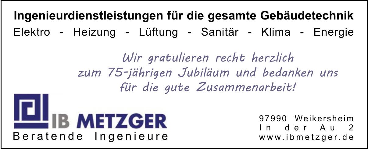 IB Metzger