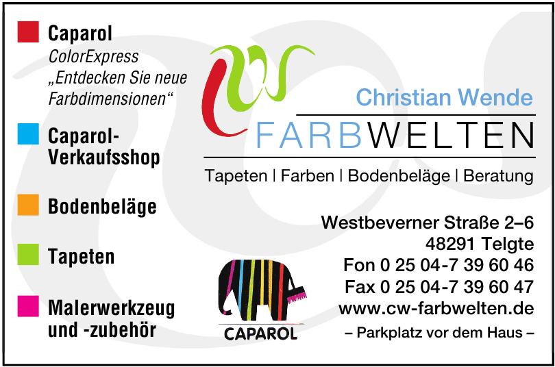 Farbwelten - Christian Wende