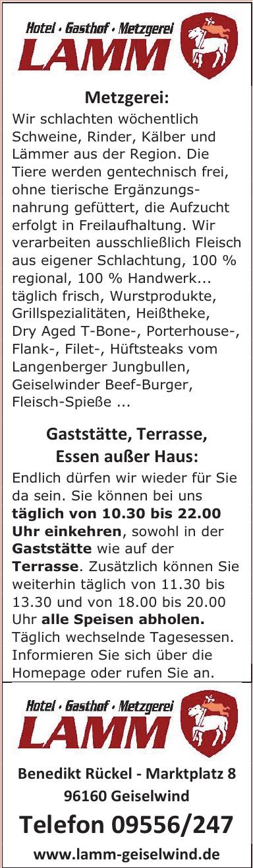 Hotel-Gasthof-Metzgerei Lamm
