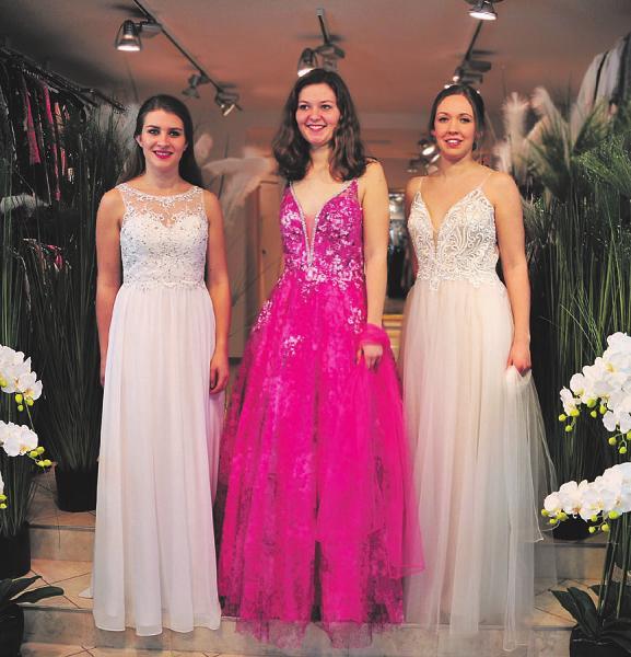 Das richtige Kleid für den wichtigsten Tag im Leben finden Sie bei Dwenger Foto: Dwenger