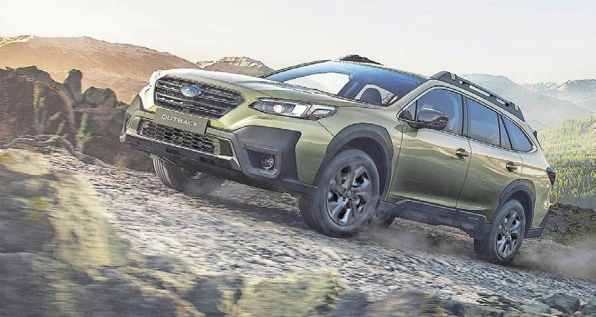 Im Juni startet der neue Subaru Outback mit 2,5-Liter-Benzinmotor, 169 PS und, selbstverständlich, 4×4.