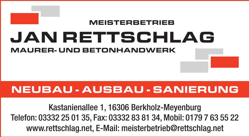 Jan Rettschlag