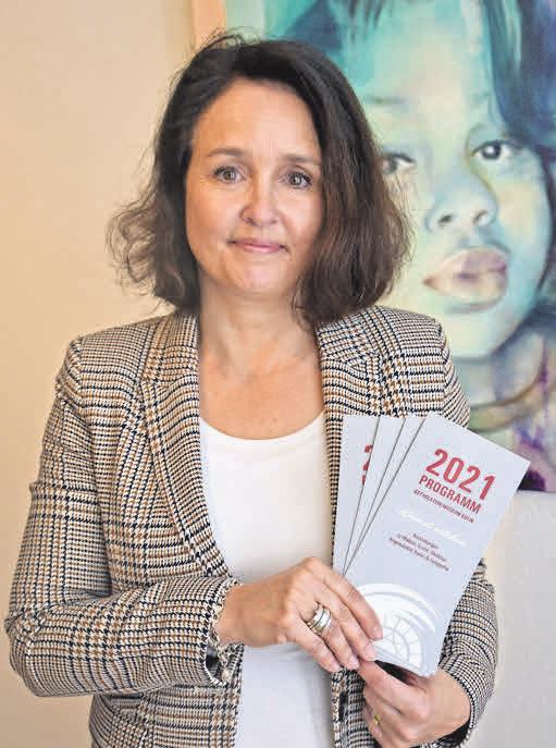Anja Sierks-Pfaff bewertet 2020 als zufriedenstellend und freut sich aufs Programm 2021.