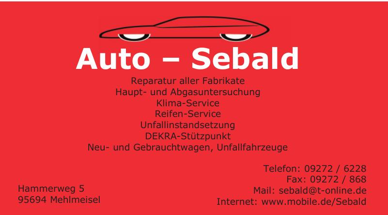 Auto – Sebald