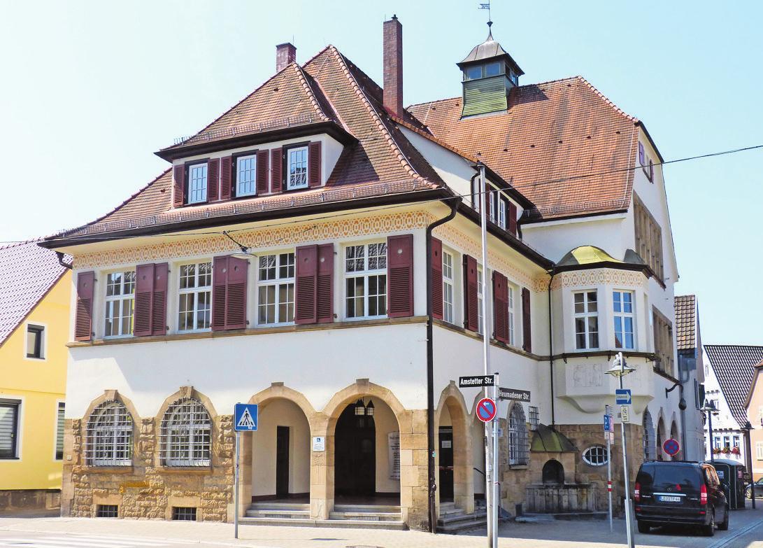 Der Gemeinderat hat die Mittel zur Sanierung des Bürgersaals im Bezirksrathaus bewilligt.