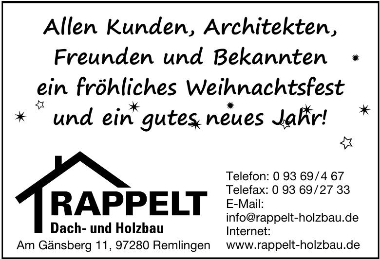 Rappelt Dach- und Holzbau