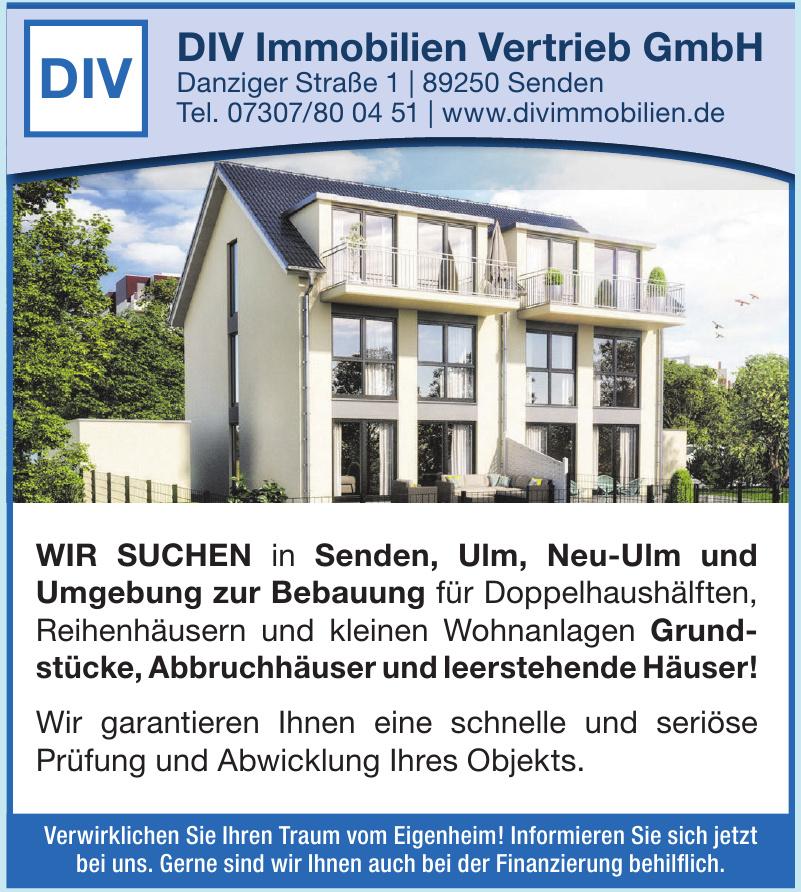 DIV Immobilien Vertrieb GmbH