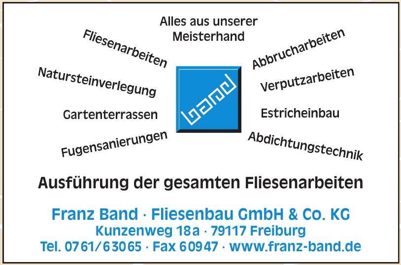 Franz Band - Fliesenbau GmbH & Co. KG