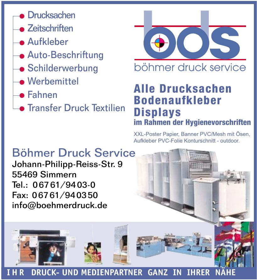 Böhmer Druck Service