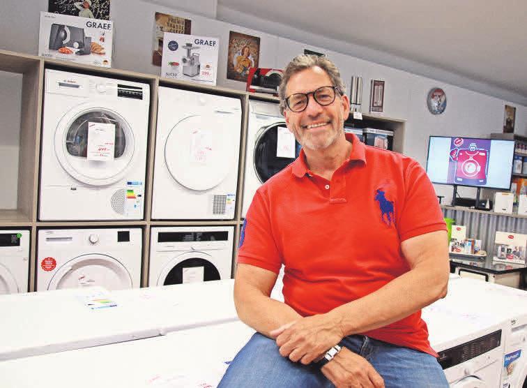 Waschen wie die Profis: In der Elektro-Fundgrube gibt es Waschmaschinen, die besonders auf die Bedürfnisse von Sportlern zugeschnitten sind