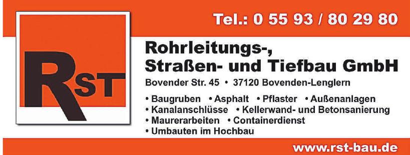 Rohrleitungs-, Straßen- und Tiefbau GmbH