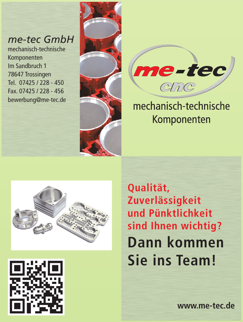me-tec GmbH