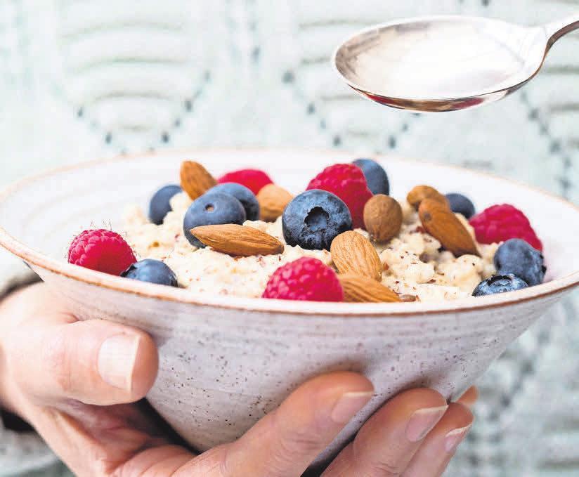 Eine gesunde Lebensweise mit ausgewogener Ernährung wirkt Nervenschäden entgegen.    Foto: djd/ Wörwag Pharma/ Colourbox