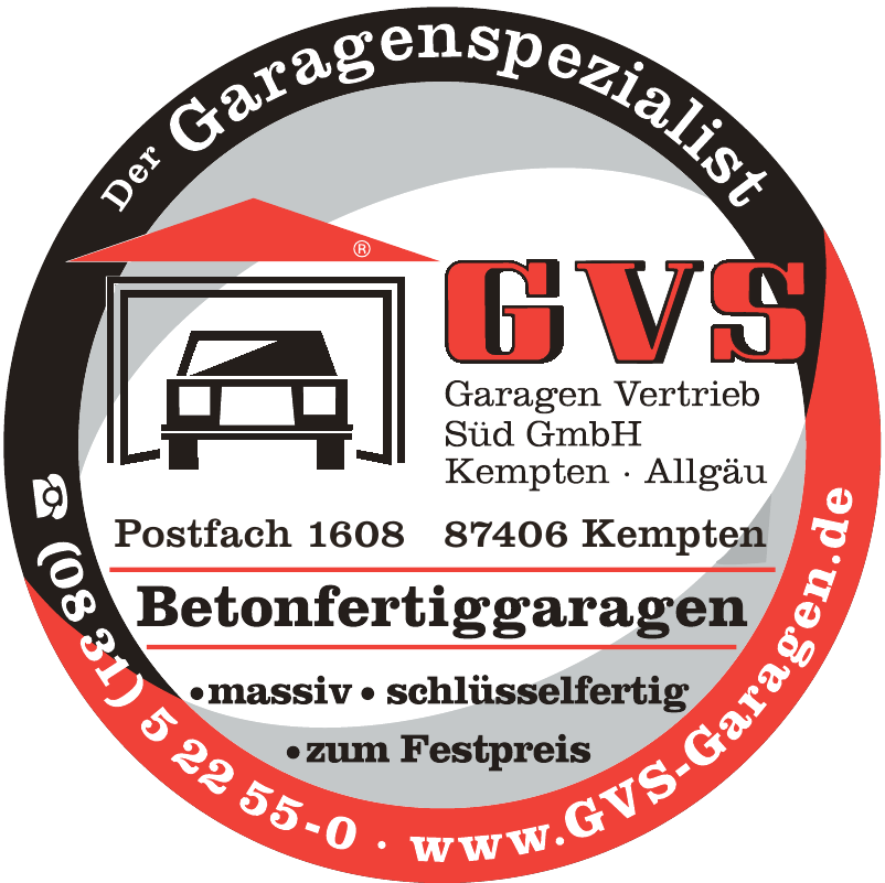 GVS Garagen Vertrieb Süd GmbH Verkaufsbüro München