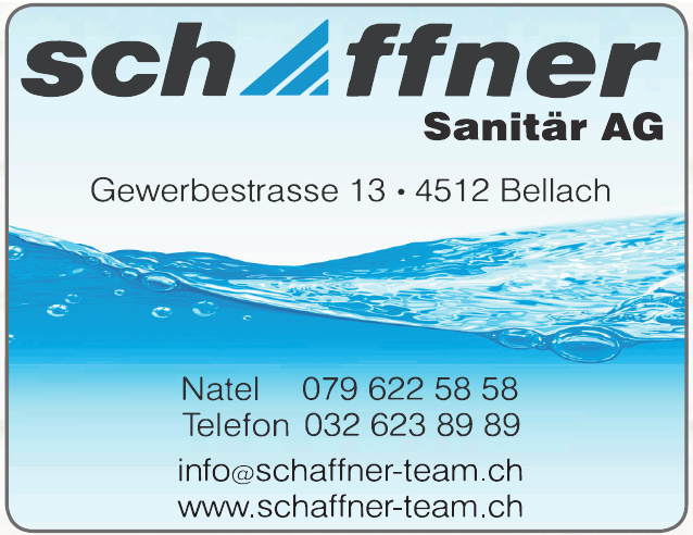 Schaffner Sanitär AG