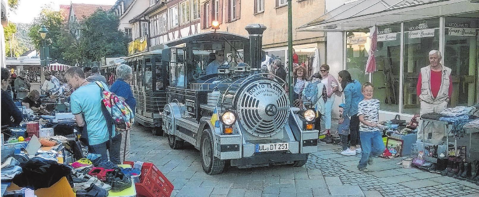 """Heute finden die Aktionen """"Blaubeuren schiebt den Feierabend"""" und das """"Bissfest"""" gemeinsam statt. Archivfoto: Menner"""