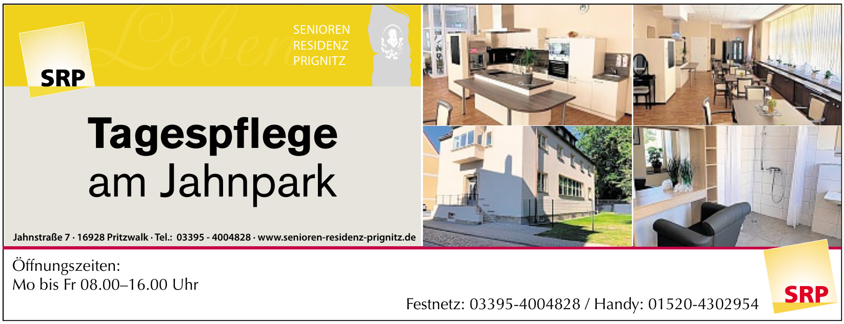 SRP Senioren Residenz Prignitz