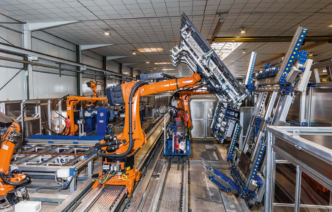 Robots can ensure consistently high quality joints and spot welds. They also ensure optimum processing of assemblies.