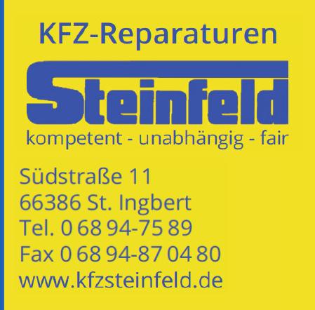 Kfz-Reparaturen Steinfeld