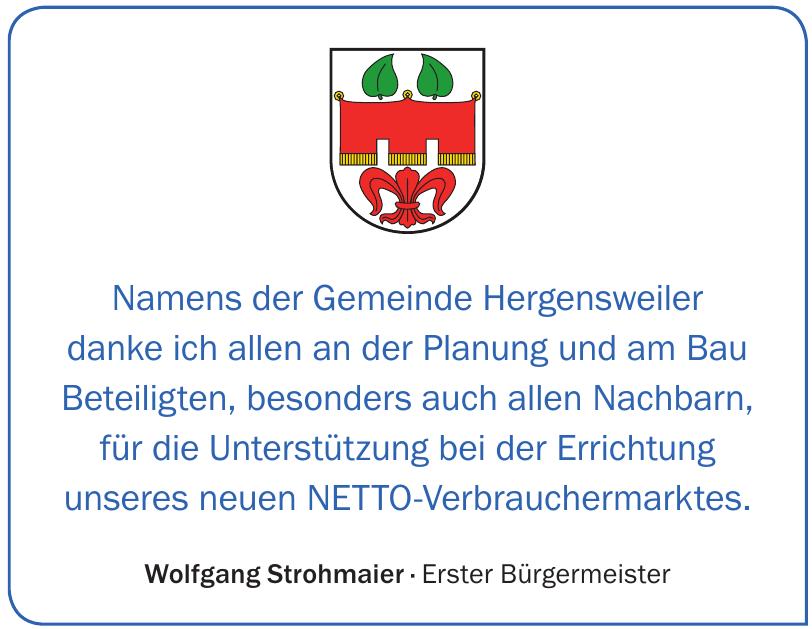 Wolfgang Strohmaier · Erster Bürgermeister