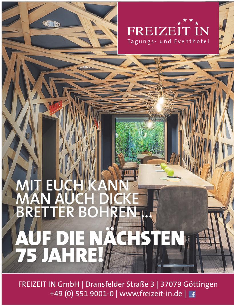 Freizeit In GmbH